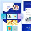 <b>100套高质量网页设计模板</b>