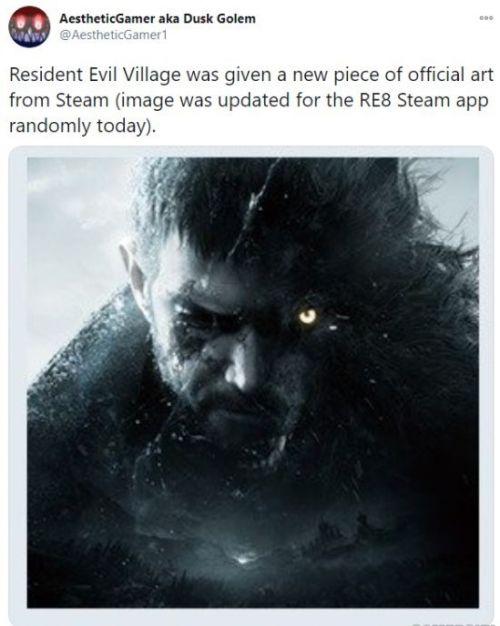 Steam《生化8》添加新图像 克里斯图右侧疑变狼人