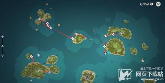原神海灵芝在哪里采集 海灵芝快速采集路线分享