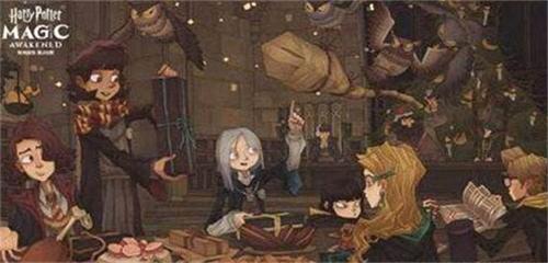 哈利波特魔法觉醒主线2-3深入密室攻略